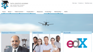 FIATA Logistics Academy website homepage