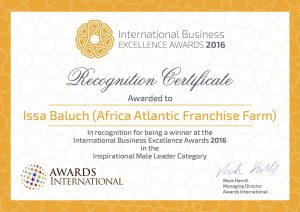International Business Excellence Awards 2016
